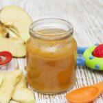 Los beneficios de la compota de manzana para el bebé
