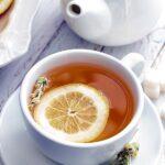 Té con limón para mantener el cabello fresco y libre de olores