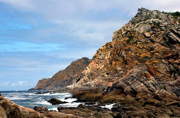 Acantilados en las islas Cíes