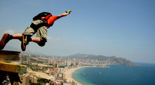 El salto base