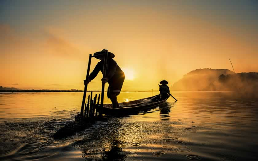 Laos sobre el Mekong